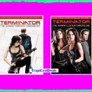 Terminator Sarah Connor Chronicles Seasons 1 & 2 New/Sealed