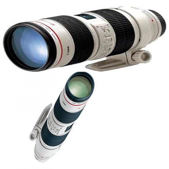 Canon EF 70-200mm F2.8 L USM Image Stabiliser IS Free Shipping to USA Canada UK Europe Worldwide