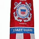 "U.S. Coast Guard Military Windsock Flag 40""~ Support Our Troops!"
