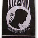 "POW * MIA Military12"" X 18"" High Quality Embroidered Garden Banner Flag"