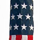 """40"""" United States of America  USA Windsock Flag 40""""  Military High Quality-Embroidered"""