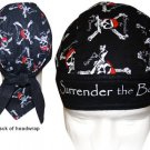 Surrender the Booty - Skull and Crossbones Pirate/ Motorcycle Bandanna