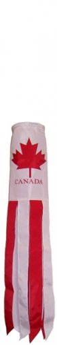 Canada Flagsock / Windsock 40in Quality
