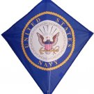 US NAVY Single Line DIAMOND KITE- Line & Handle Included