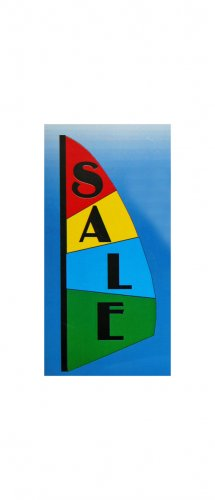 3.5 FT Commercial Retail Store - SALE - Feather Banner Sign