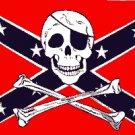Rebel Pirate Flag 3x5 Boat/Motorcycle