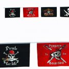 25 ft Pirate Flag String -  Great for parties and Get-togethers!
