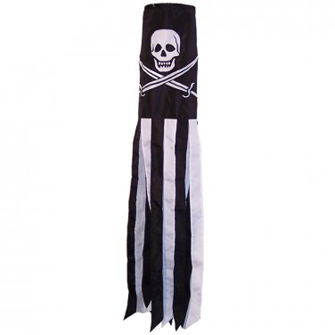 "Calico Jack 60"" Windsock"