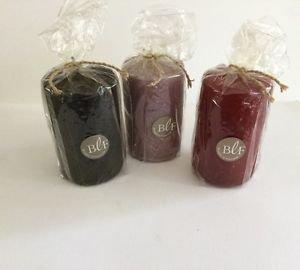 """Bougies la Francaise -  Taper 4 """" wrap assorted colors"""