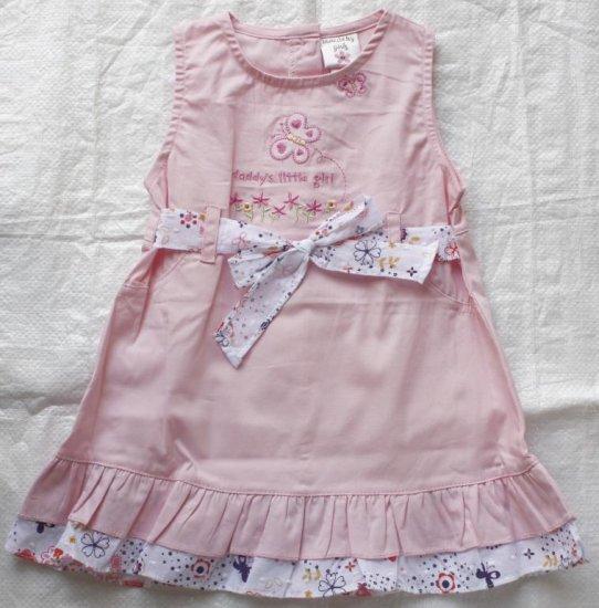 Laura Ashley baby dress with ruffle
