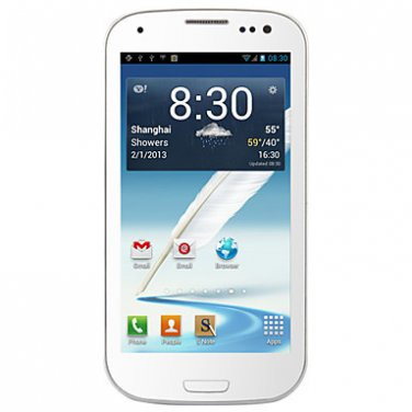 """E9300 - Android 2.3 MTK6517 1GHz with 4.6"""" Capacitive Touchscreen, Unlocked,WIFI, GPS"""
