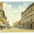 DuBois PA c. 1910 Postcard Brady Street Looking North
