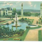 Highland Park Pittsburgh PA c.1907 Postcard