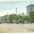 Federal St Looking West Youngstown OH c.1908 Postcard