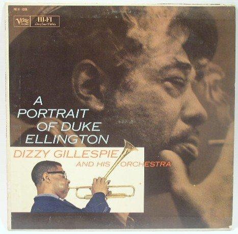 Dizzy Gillespie - A Portrait of Duke Ellington LP