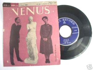 Venus - Lloyd Jones / David Bryant 1959 Bell 45rpm