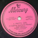 Buddy Johnson - A Pretty Girl / Any Day Now - 78rpm
