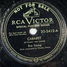 Eve Young - Cabaret - RCA 3412 78rpm