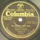 Hugh Cross and Riley Puckett - Go Feather Your Nest - 78rpm