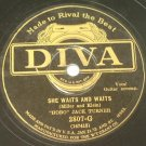 Hobo Jack Turner - She Waits and Waits / Big Rock Candy Mountains - 78rpm