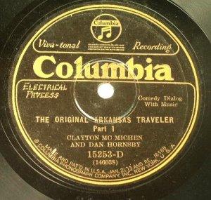 Clayton Mc Michen & Dan Hornsby - The Original Arkansas Traveler 78rpm