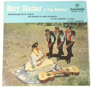 Mary Sanchez y Los Bandama - Spain - Columbia EDGE 71172 EP