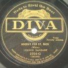 Vernon Dalhart - Santa Claus, That's Me! Diva 78rpm
