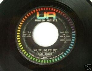 Marv Johnson - Ain't Gonna Be That Way - UA 226 45rpm