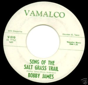 Bobby James - Song of the Salt Grass Trail 45rpm