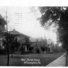 West Fourth Street Williamsport PA c. 1908 Postcard