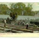 Greenhouse Construction Bronx Park NY c.1910 Postcard