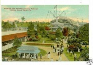 Willow Grove Park PA c.1910 Postcard