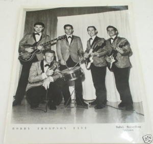 Bobby Thompson Five aka Bobby and the Fifths Publicity Photo
