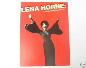 Lena Horne - The Lady and Her Music Souvenir Booklet
