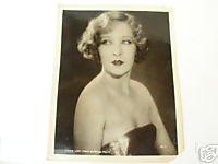 Gwen Lee MGM 8x10 Vintage Publicity Photo