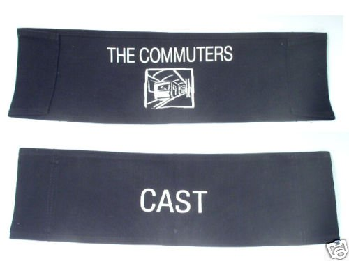 The Commuters Cast Production Chair Back