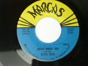 Crystal Rivers - Another Woman's Man / You Walked Out On Me - 45 rpm