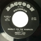 Freddy Lake - Mama's On the Warpath / You Left So Many Times - 45 rpm