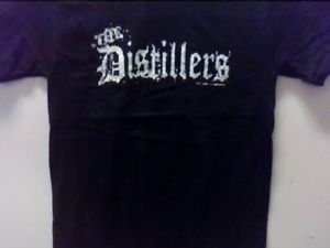 The Distillers band Punk rock music retro Concert gift T-shirt Vintage Style