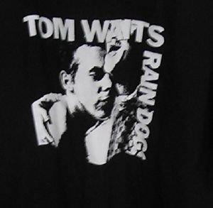 TOM WAITS  Punk rock music Retro Concert the best gift vintage style T-shirt
