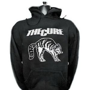 The Cure band punk rock music vintage retro style  cool hooded sweatshirt