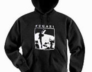 Fugazi band punk rock music vintage retro style  cool hooded sweatshirt