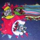 THOMAS TRAIN HANDMADE REVERSIBLE CHILDS  FLEECE SCARF