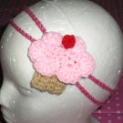 Adorable Cherry or Blueberry Cupcake Birthday Hair Clip or Pin *New With Tags*