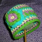 ◘SWEET PEA◘ Baby Crochet Flower Photo Hat Beanie *Any Size Available*