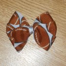 "Football Cheerleader Sport 3"" Hair Bow Clip"