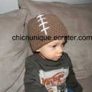 Sports!!  Football Themed Crochet Hat *Any Size Available*