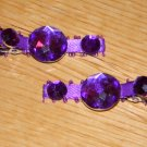 New!!  Set of Purple Gem Hair Clips!