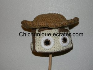 ��� Toy Story Cowboy Woody Custom Crochet Hat *Any Size Available* ���