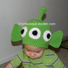 •◘• Toy Story Alien Custom Crochet Hat *Any Size Available* •◘•